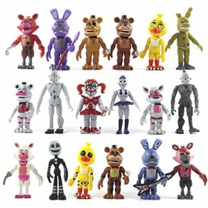 18 Pcs Five Nights at Freddys Action