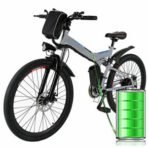 26 inch Folding Electric Mountain Bike for Adults