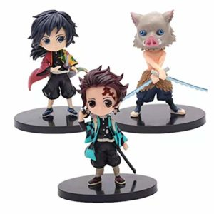 3 Pcs Devil's Blade Anime Figures Demon