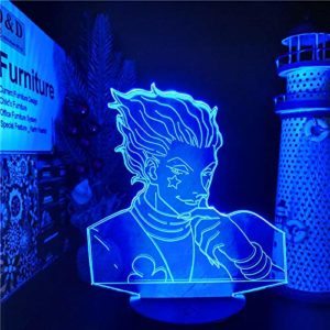 3D Lights Optical Illusions Led Light Anime