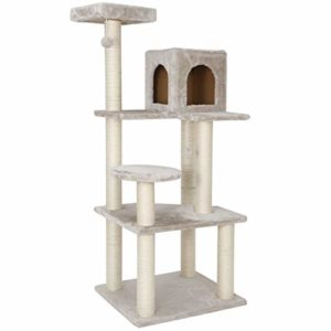 56.3 Inches Cat Tree Furniture Kittens Activity