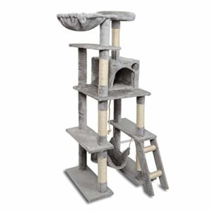 61 Inches Multi-level Cat Condo Cat Trees
