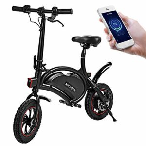 ANCHEER Folding Electric Bicycle E-Bike Scooter 350W