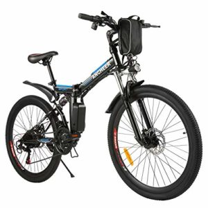 ANCHEER Folding Electric Mountain Bike 26'' Electric