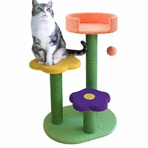 Affenlaskan Cat Tree Tower Climbing Bed with
