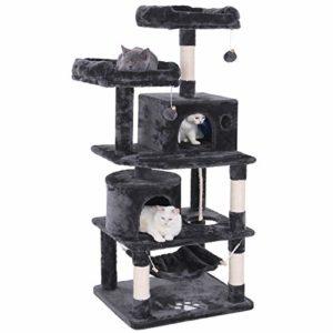 BEWISHOME Cat Tree Condo Tower Kitten Furniture