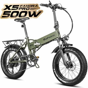 Eahora X5 Plus 750W Fat Tire Folding