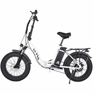 Fat Tire Electric Bike for Adults Folding