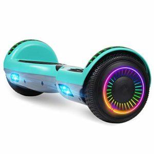 Felimoda Hoverboard W/Led Wheels Lights