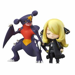 LJ-CLOOR Pokemon Anime Action Figures Cynthia Statue