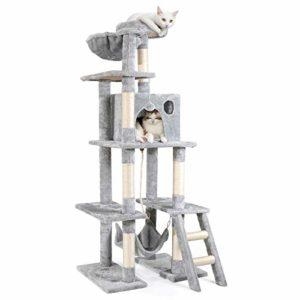 """Rabbitgoo Cat Tree Cat Tower 61"""" for"""