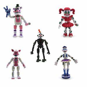 Set of 5 FNAF New Sister Toys