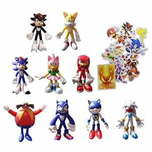 Sonic Figure 3inch 9pcs/lot Sonic The Hedgehog Action Figure