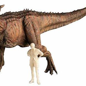 WSIMEI Red Color 1:35 Carnotaurus Dinosaur Animal
