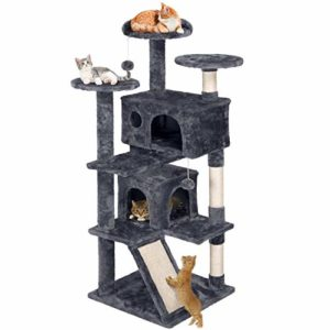 YAHEETECH 55 inches Cat Tree Pet Furniture
