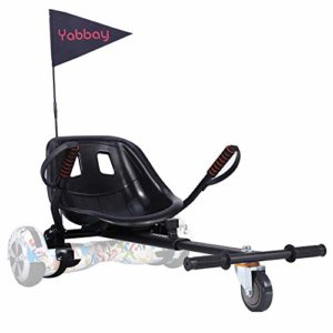 Yabbay Hoverboards Seat Attachment Go Karts