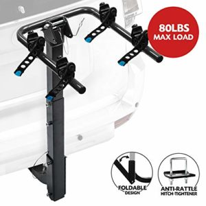 2-Bike Bicycle Hitch Mount Carrier Rack -