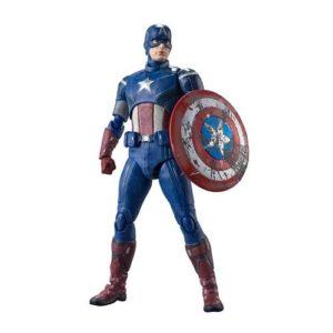 Avengers Captain America Assemble S.H.Figuarts Figure