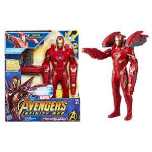 Avengers Mission Tech 12-Inch Iron Man Action Figure