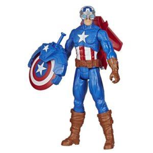Avengers Blast Gear Captain America Action Figure