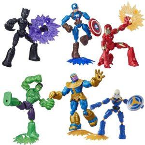 Avengers Bend and Flex Action Figures Wave 2 Case