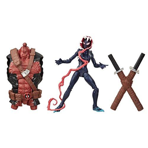 Venom Marvel Legends 6-Inch Ghost-Spider Action Figure